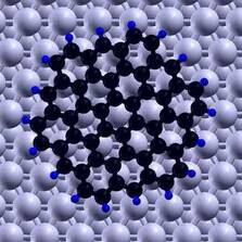 Graphene Flake on Substrate