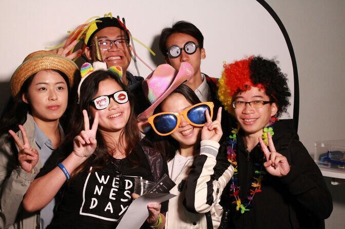 International students at the Welcome Week